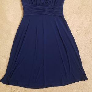 Jones Wear Dresses - Jones wear Royal Blue dress